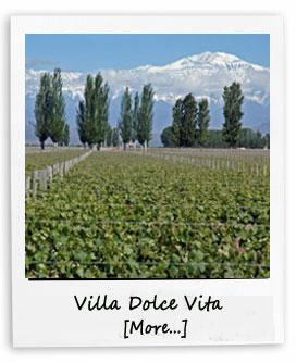 Vila Dolce Vita in Mendoza
